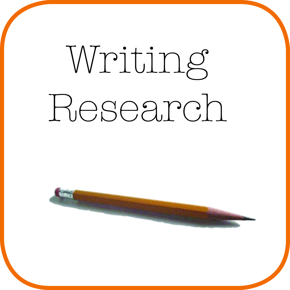 Writing with Research Icon